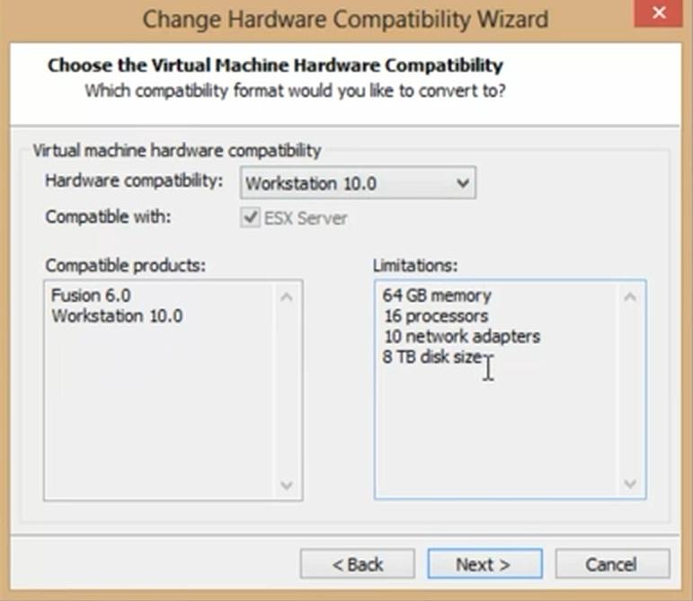 Workstation 10_hardware support