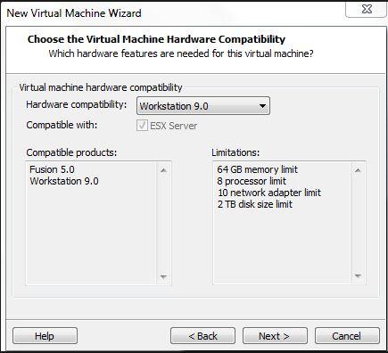 Workstation 9_hardware support